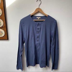 Burberry London Slim Fit Henley Shirt